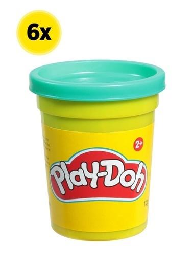 Hasbro Play-Doh Tekli Hamur X 6 Adet Renkli